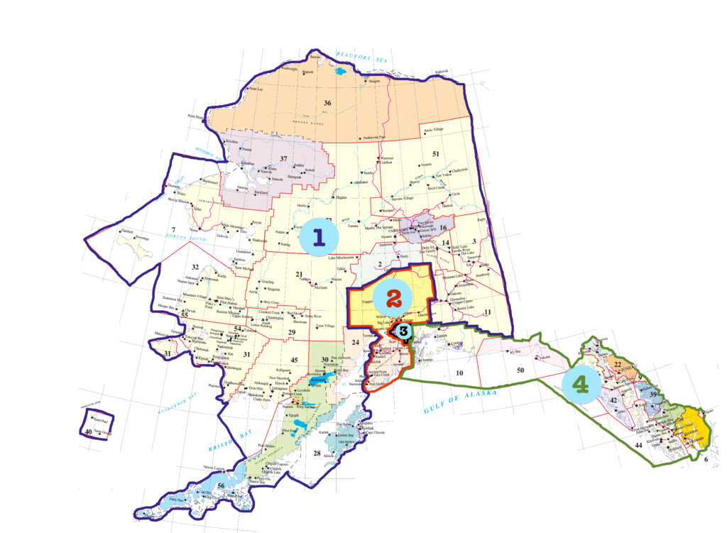 AkASL Regions