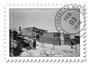 "Robert and Wilma Knox ""Government Hill School in Anchorage after 1964 earthquake."" uaa-hmc-0461-s6a-f1-51-AE(a)-20-2"