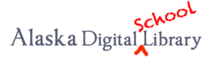 Alaska Digital School Library Logo